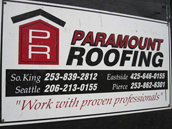 Paramount Roofing Company in Washington State