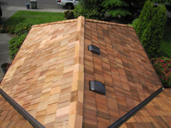 Paramount Roofing Cedar Roof Project